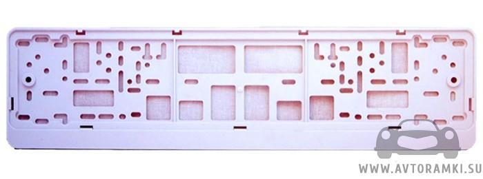 Белая рамка для номерного знака, купить