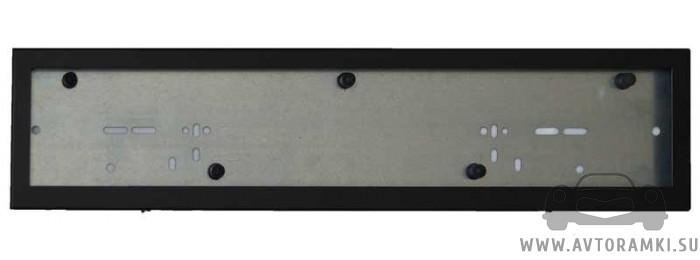 Металлическая кассетная рамка (черная) для номера, купить