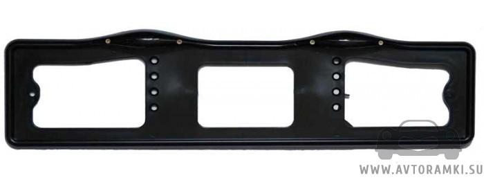 Черная рамка с подсветкой для номерного знака, купить