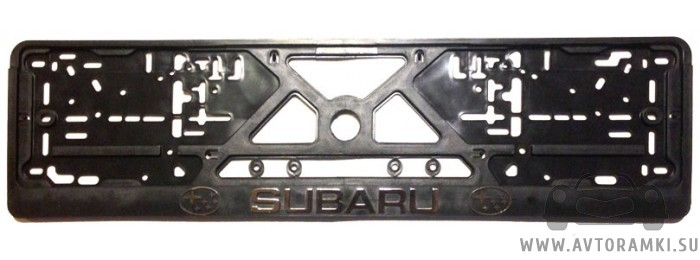 """Рамка """"Subaru"""" для номерного знака, купить"""